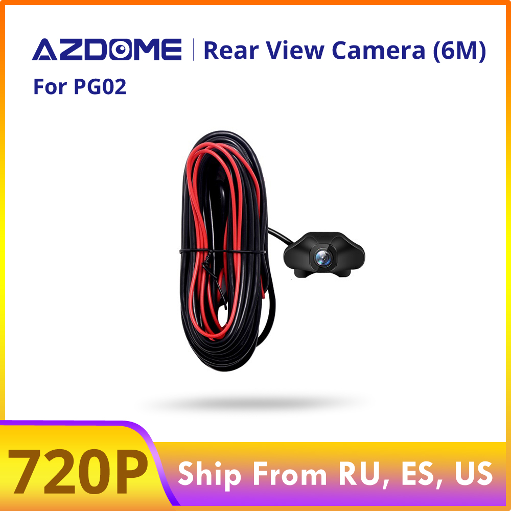 AZDOME 720P Car Rear View Camera For PG02 Mirror Dash Camera Car DVR Video Recorder Waterproof  Vehicle Backup Cameras