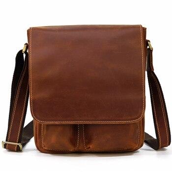 MAHEU New Arrivals Genuine Leather Shoulder Bag High Quality Crossbody Bag of Men Male Sling Bag Mans Messenger Bag Outdoor