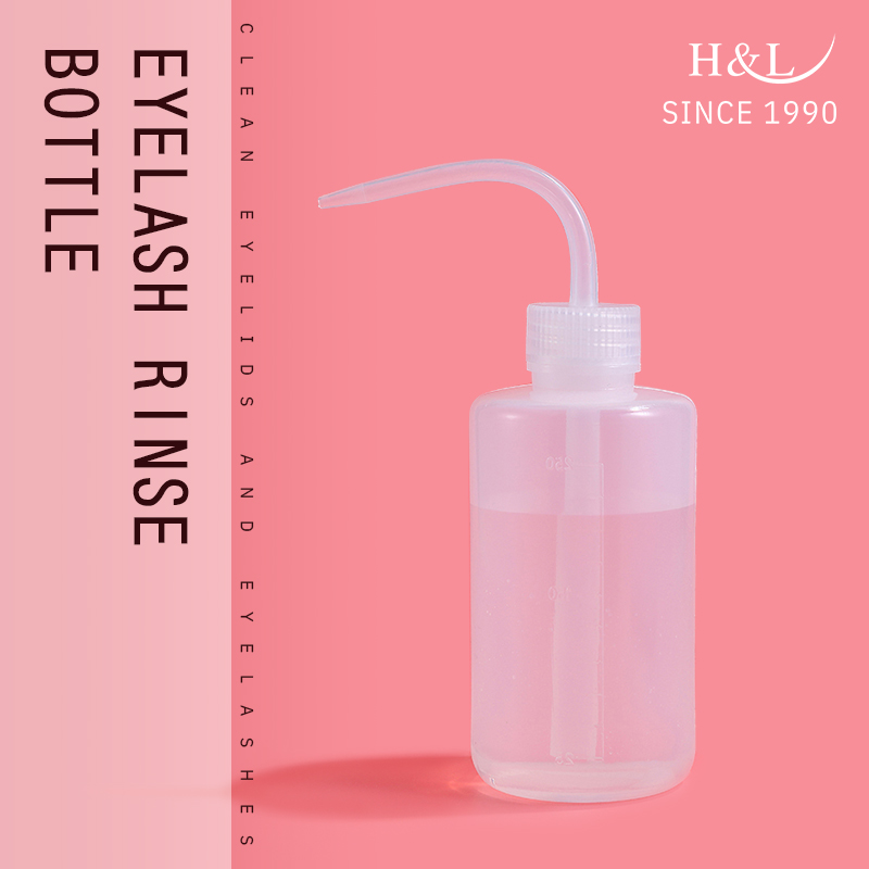 H&L Make Up Tool For Eyelash Extensions Cleaning Bottle For Clean Eyelash With Distilled Water Or Saline Eyelashes Lash