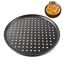 Mould Tray-Mold Pizza-Tray Baking-Tools Round Pan Deep-Dish 32CM Non-Stick