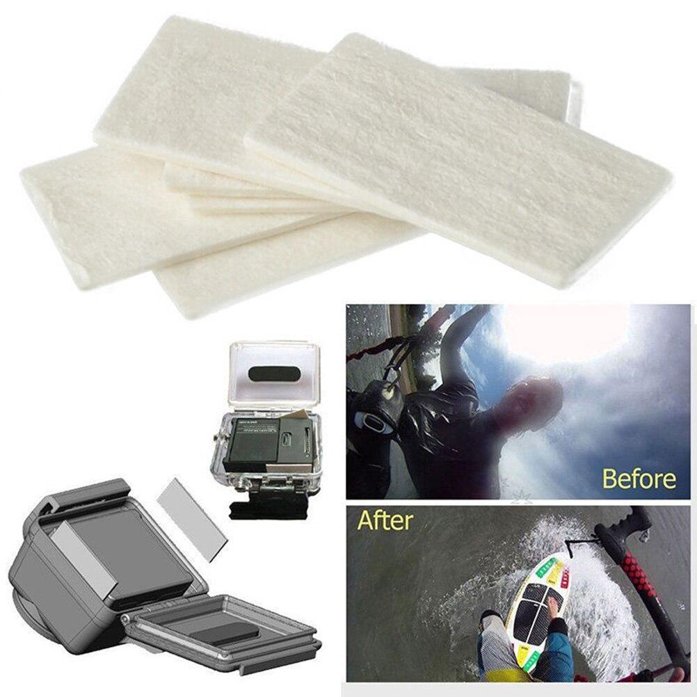 12 PCS  Gopro Anti-Fog Inserts Anti Fog Drying Inserts for Gopro Hero 4 3+ 3 2 SJCAM For Xiaomi yi Action Camera