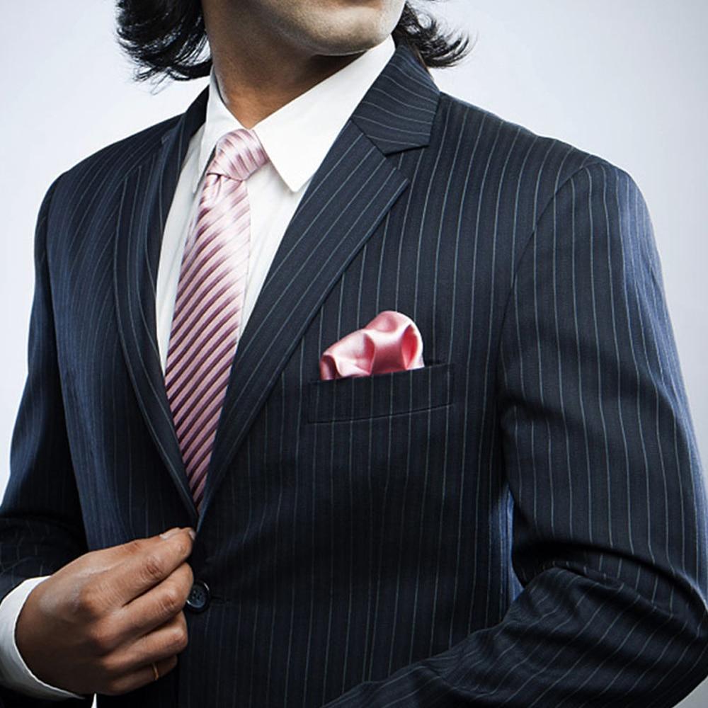 Solid Color Men Suit Pocket Handkerchief Solid Color Pocket Scarf  Wedding Dress Chest Towel Handkerchief