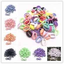 50pcs/15x10mm Acrylic Chain Links DIY Charm Accessories for Jewelry Making
