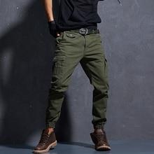 Men's Cargo Pants Large Size Flexible Tactical Harem Pants M