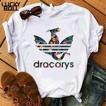 Dracarys T-Shirt Female Mother of Dragon Tops Tee Harajuku k