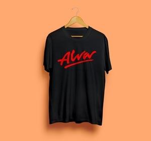 Альва скейтборд футболка черный новый унисекс Катание на коньках черная футболка Размеры S-3Xl
