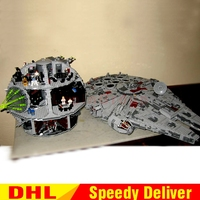 LP 05033 Ultimate Collector's Millennium Falcones LP 05035 Death Star Wars Building Block Bricks lepins toys 10179 10188