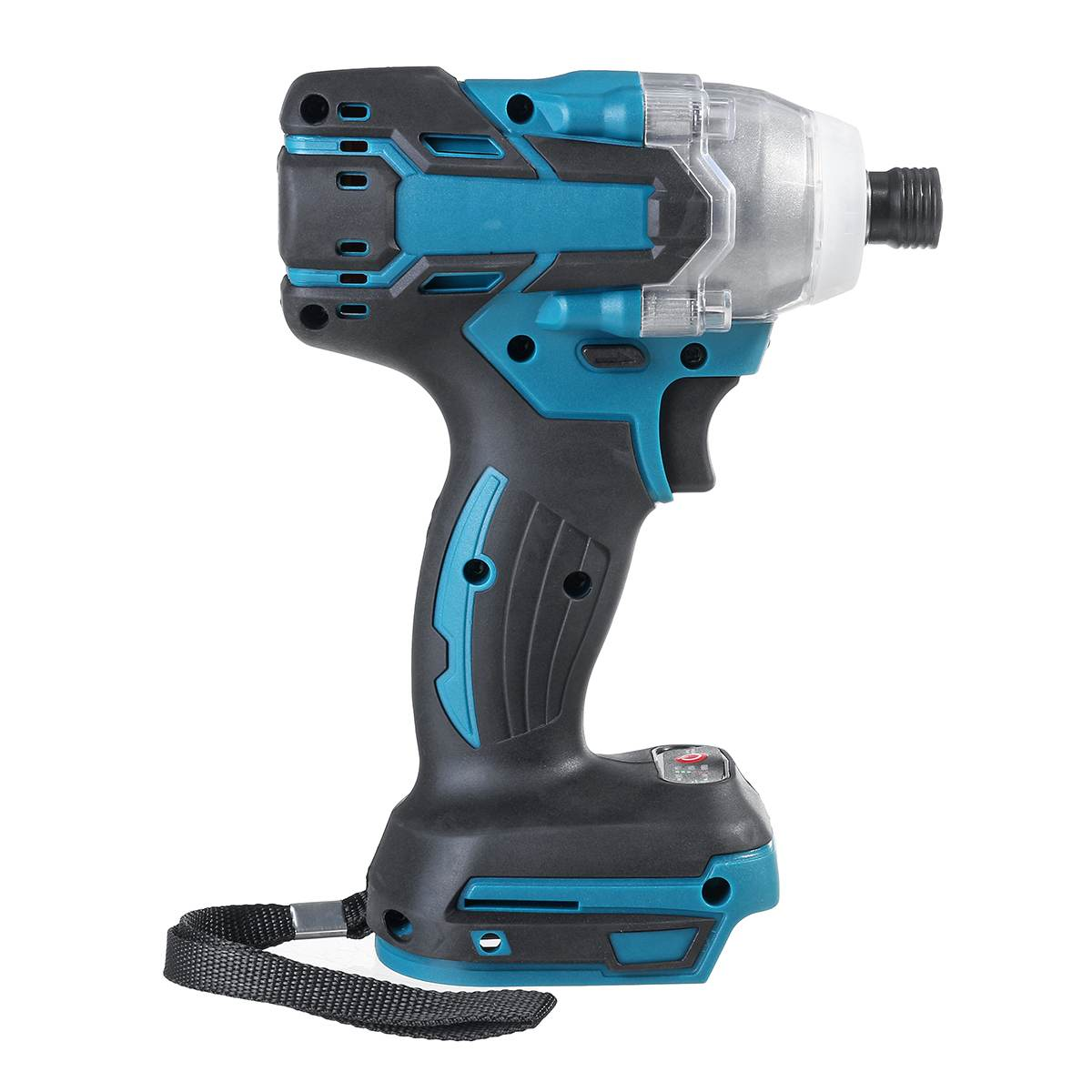Tools : 18V Electric Brushless Impact Wrench Screwdriver Rechargable Cordless Electric Impact Driver  LED Light For Makita Battery