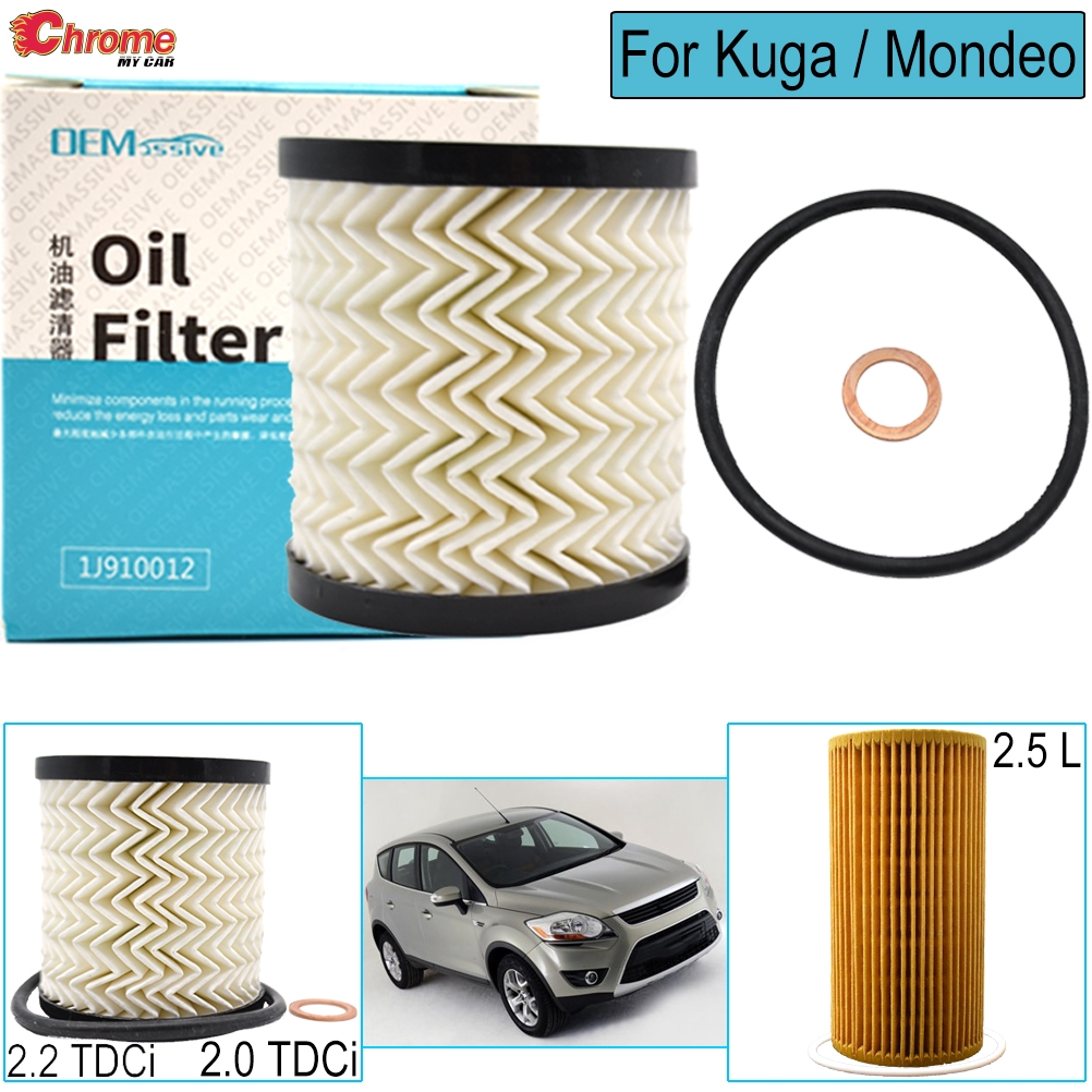 SERVICE KIT for FORD KUGA 2.0 TDCI BOSCH OIL AIR FUEL FILTERS 2008-2010
