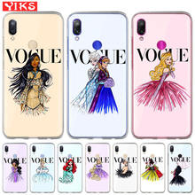 Vogue Goddess Queen Princess Case For Xiaomi Redmi Note 7 6