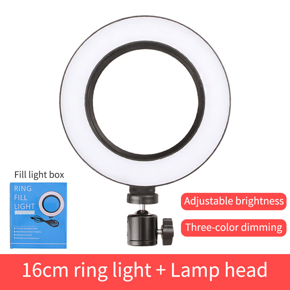 Net red live fill light mobile phone bracket led ring light anchor self-timer vibrating light lamp photography tripod