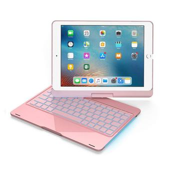 For Ipad 10.5 inch 360 Degree Rotatation backlight Bluetooth keyboard
