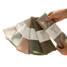 12PCS Reusable Cloth Table Mat,Durable Cloth Napkins,Kitchen Tableware Durable Towel, for Dining Room Family Dinners Weddings
