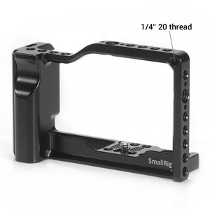 Image 2 - SmallRig M100 Camera Cage for Canon EOS M100 Camera Feature with 1/4 3/8 Thread Holes for Magic Arm Microphone DIY Options 2382