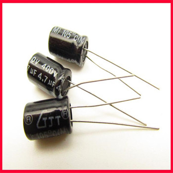 New 400V4.7UF electrolytic capacitor aluminum electrolytic capacitor 4.7UF/400V volume 8*12 foot pitch 3 image