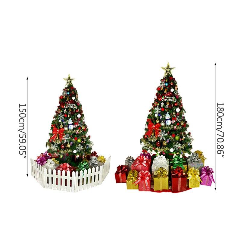 Weihnachten Dekoration Ornament Luxuriöse Sets Baum Decor Anhänger LED Licht Weihnachten Baum Figuren Party Dekorationen Diy Handwerk - 6