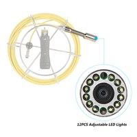 下水道 23 ミリメートル 800tvl ため lixada パイプ下水道検査カメラ防水ビデオカメラドレンヘッドカメラ 7D1 の修理交換