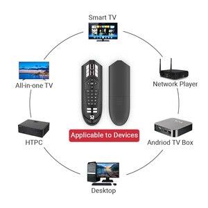 Image 2 - R1 31 IR التعلم مفاتيح اللاسلكية الهواء ماوس الجيروسكوب 2.4G الذكية صوت التحكم عن بعد ل X96 H96 ماكس الروبوت التلفزيون مربع vs G20S G30