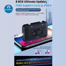 Jc B-BOX c3 dfu caixa nand programador dados de série flash nand ler escrever ferramenta de reparo para iphone 6 7p 8p x para ipad sem desmontagem