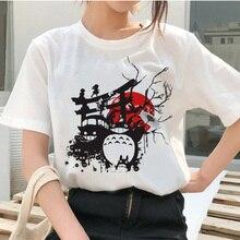 totoro Spirit Away t shirt camiseta mujer Studio Ghibli female t-shirt Japanese cartoon Anime women tshirt Miyazaki Hayao