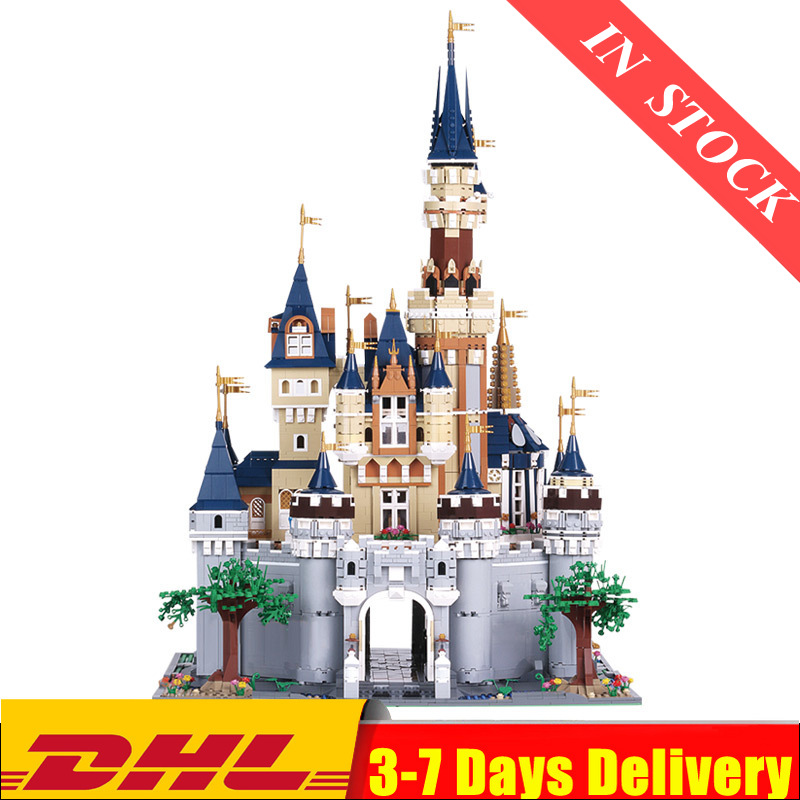 IN Stock Mould King Girl Friends The MOC <font><b>13132</b></font> Princess Castle Model Building Blocks bricks with 71040 Kids Toys Gifts image