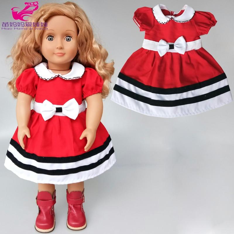38 см; платье с бантом для маленькой куклы; банный халат; 18 дюймов; платье с бантом для куклы американского поколения; подарок для маленькой