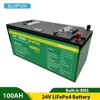 Batteria 12V 24V 100ah 200ah 280ah Lifepo4 batteria agli ioni di litio pacco batterie 12v LifePo4 per inverter, motore per barche esente da tasse