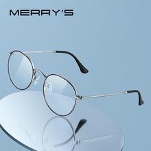 MERRYS DESIGN Classic Round Glasses Frame For Men Women Fashion Myopia Prescription Glasses Frames Optical Eyewear S2547