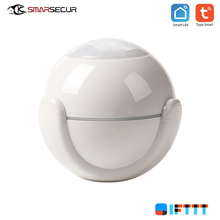 Smart Home Pir Motion Detector Tuya Infrared Wifi Sensor 2.4GHZ One-key Connect  Sensors czujnik ruchu