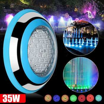 35W LED Underwater Light RGB Pond Outdoor Swimming Pool 12V Waterproof Decorative LED Lighting + Wireless Remote Control