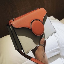 Casual Panelled Small Flap Bags For Women Shoulder Bag Brand Designer Ladies Messenger Bags Ins Fashion Totes Chic Organ Bag New