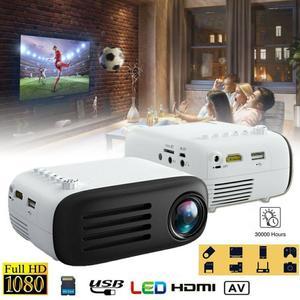 YG200 3D Мини проектор с 7000 люмен Full HD 1080P EU AU UK US Plug Домашний кинотеатр видео мультимедийный проектор