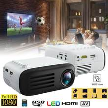 YG200 3D Mini Projector Met 7000 Lumens Full Hd 1080P Eu Au Uk Us Plug Home Cinema Theater Video multimedia Beamer Projector(China)