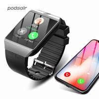 Bluetooth Smart Watch in DZ09 per Apple Della Vigilanza con la Macchina Fotografica 2G SIM Slot Per Schede TF Del Telefono Smartwatch per Android IPhone xiaomi Russia T15