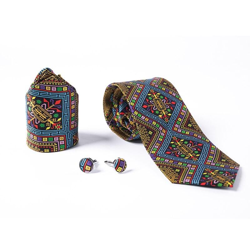 DHL/бесплатная доставка TNT 40 шт 125 стиль галстук оптовая продажа новый модный мужской галстук 100% шелк высокой плотности Пейсли Полосатый галс... - 5
