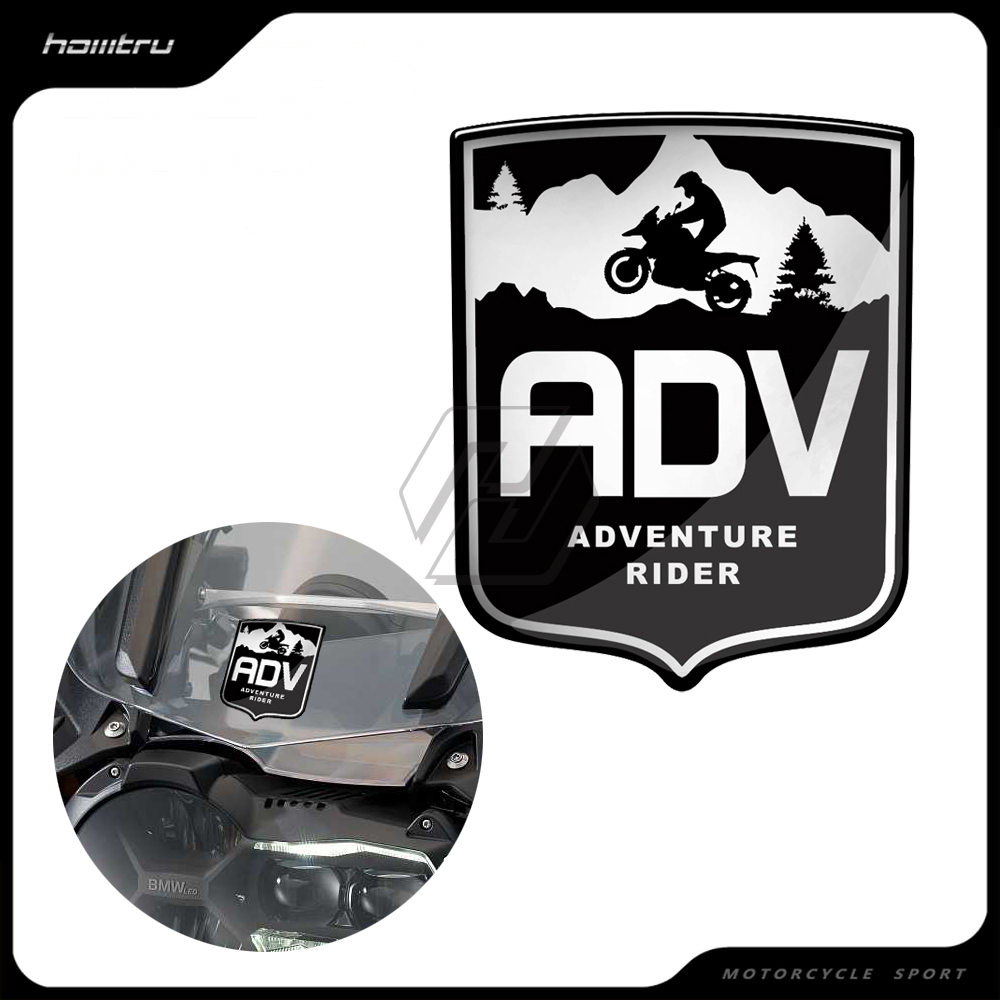 3D Motorcycle Decal Adventure Rider Sticker Case for BMW R1200GS R1250GS F850GS ADV for Honda X-ADV africa twin