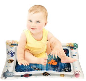 Colchoneta de agua Inflable para bebé, centro de actividades para niños y infantes, Spa Inflable para bebés