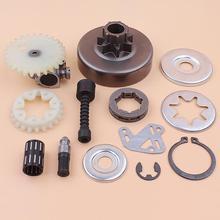 "3/8"" Clutch Drum Sprocket Rim Oil Pump Filter Line Washer Repair Kit For Stihl MS380 038 1119 0007 1003, 1119 640 3200"
