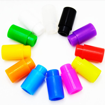 Silicone Drip Tips 510 Mouthpiece for Electronic Cigarette vape Tank Atomizer 10Pcs image