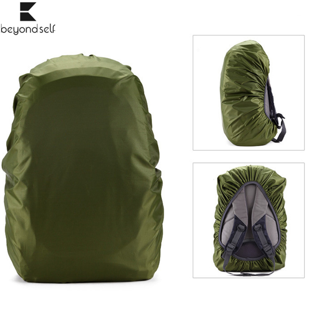 <font><b>35L</b></font> 45L 55L 70L 80L <font><b>Backpack</b></font> Rain Cover Hiking Camping Travel Waterproof Dustproof Protect Sports Bag Ultralight Outdoor Tools image