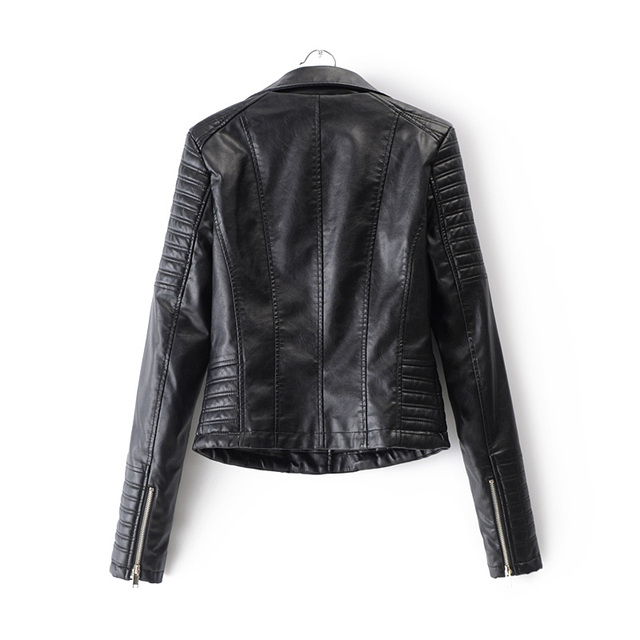 Smooth Motorcycle Leather Jackets  2
