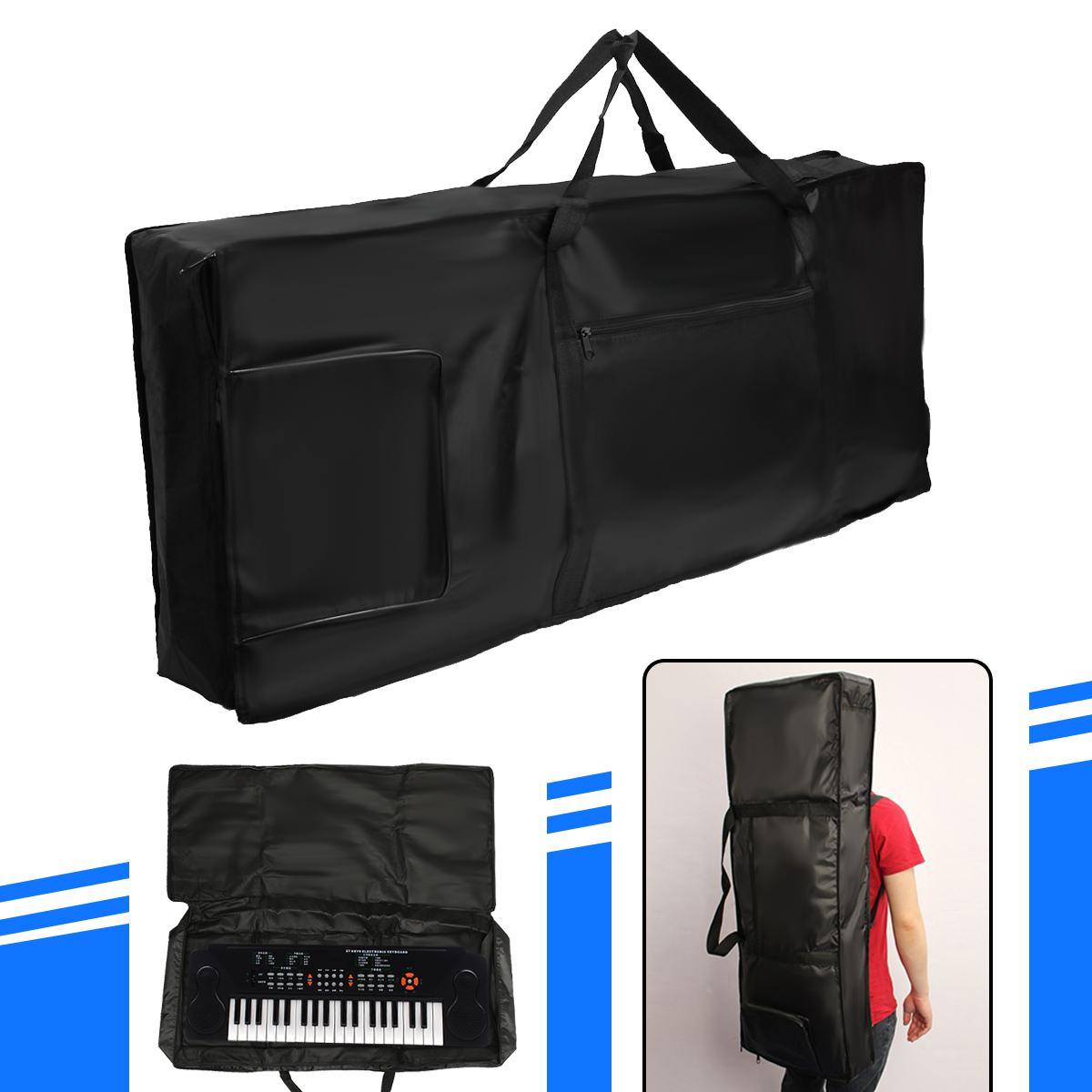 portátil grosso acolchoado piano elétrico teclado saco