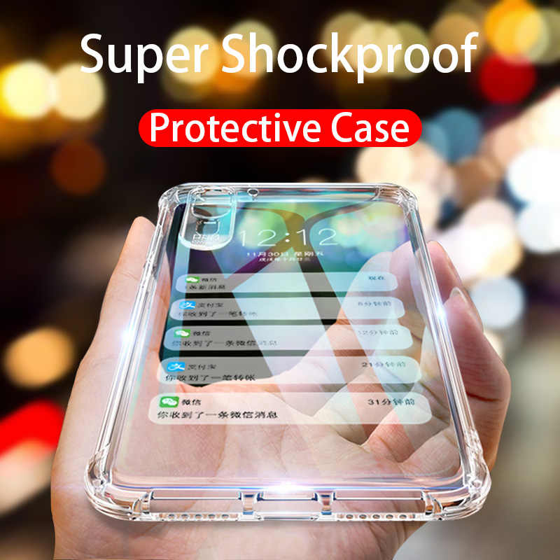 Soft TPU Silicone Cases For Huawei P20 Lite Case P30 Pro Shockproof Cover P Smart 2019 P10 P8 Lite Nova 3 3i Mate 10 20 Cover