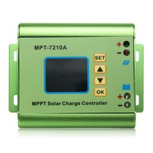24/36/48/60/72V 10A DC-DC Boost LCD MPPT Solar Regulator Charge Controller 7210A(China)