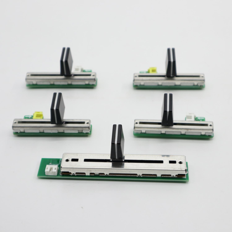 5pcs/lots CH1 CH2 CH3 CH4  CHx FADER FIT PIONEER DJM 800 DWX2537 DWX2538 DWX2539 DWX2540 DWX2541 Each Model One Pcs