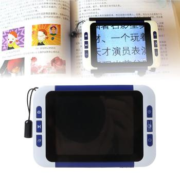 2-32X 3.5 in LCD Electronic Reading Digital Magnifier Portable Reading Aid for Low Vision People