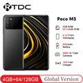 Globale Version POCO M3 6.53 ''FHD + Snapdragon 662 Octa Core 4GB 64GB/128GB 19.5:9 48MP AI Triple Kamera 6000mAh Handy