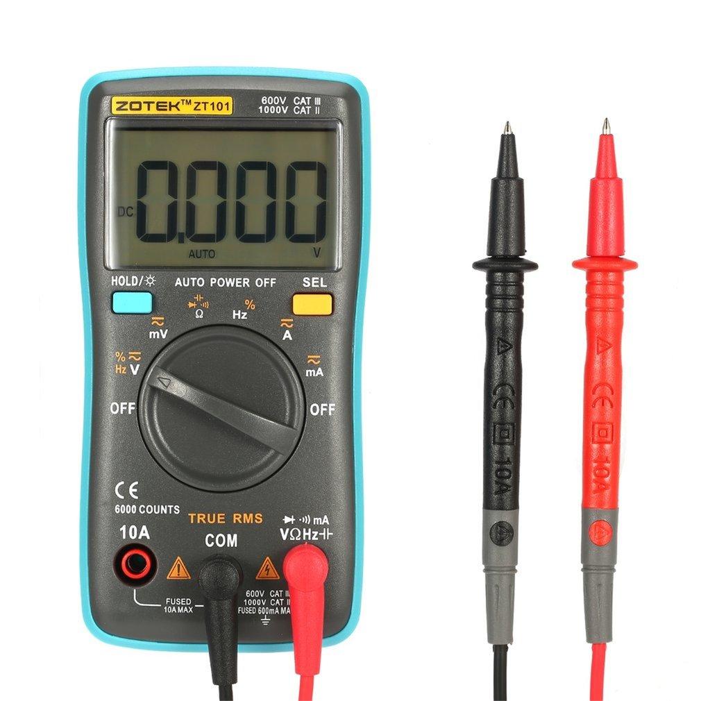 ZOTEK ZT101 Mini Auto Range Digital Multimeter 6
