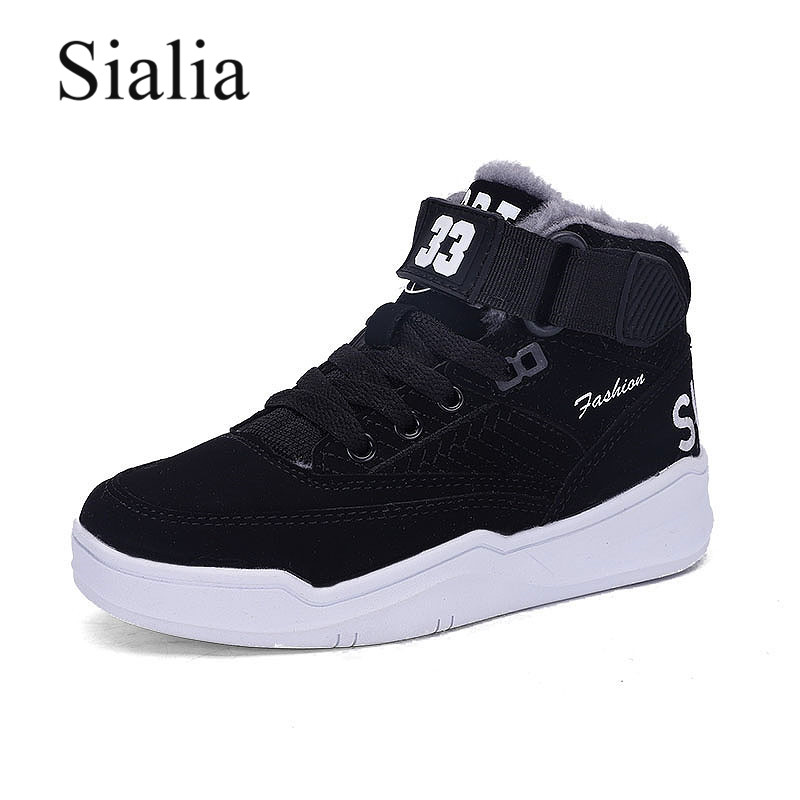 Sialia Winter Children Boots For Kids Shoes Boys Snow Boots Girls Shoes Plush Lining Warm High-Toe Ankle Bota Infantil 2020