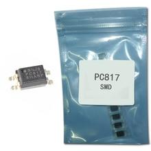 50 개/몫 집적 회로 PC817C 광분리기 PC817 C 트랜지스터 광전지 출력 SMD IC 칩 SOP4